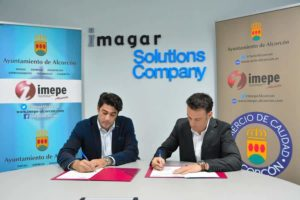 Convenio Ayuntamiento de Alcorcón e Imagar Solutions Company